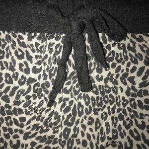 Victoria's Secret Intimates & Sleepwear - Victoria's Secret gray leopard sleep short sz L